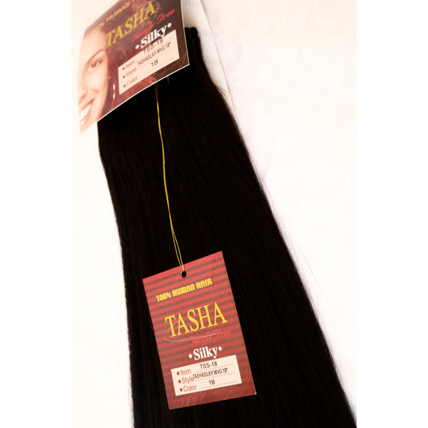 'Tasha Silky Straight' 100% Human Hair Extensions by La Nova - Waba Hair and Beauty Supply