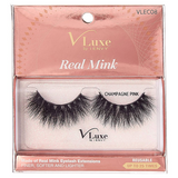 V-Luxe I Envy - VLEC08 Champagne Pink - 100% Virgin Remy Real Mink Lashes By Kiss