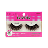 I Envy - KPEI25 - 3D Iconic Collection Glam 3D Lashes By Kiss - Waba Hair and Beauty Supply
