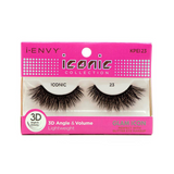 I Envy - KPEI23 - 3D Iconic Collection Glam 3D Lashes By Kiss - Waba Hair and Beauty Supply