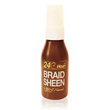 24 Hour Braid Sheen Hair Spray by Ebin New York Natural 2oz - Waba Hair and Beauty Supply