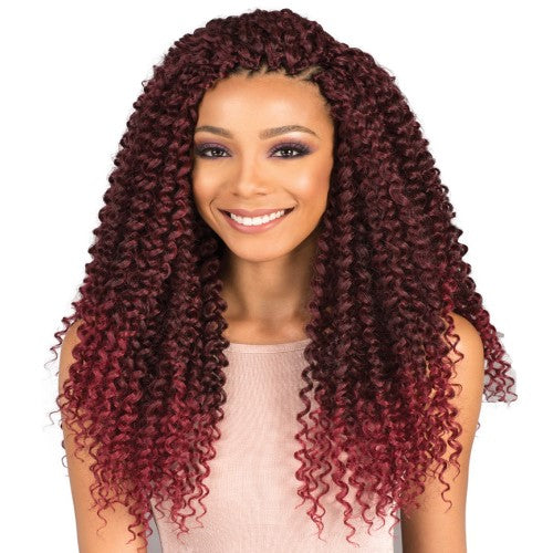 "Brazilian Water Curl 18"" Crochet Braiding Hair by Bobbi Boss - Waba Hair and Beauty Supply"