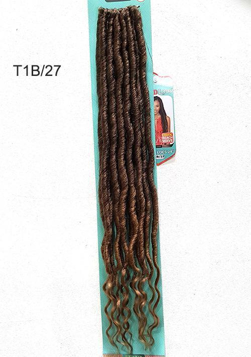 "18"" Island Locs Crochet Braid Hair By African Roots Collection Bobbi Boss - Waba Hair and Beauty Supply"