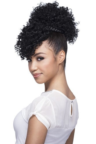 BPB POP - Bang & Pony Ponytail - Drawstring Pony-Tail Extension By Vivica A. Fox - Waba Hair and Beauty Supply