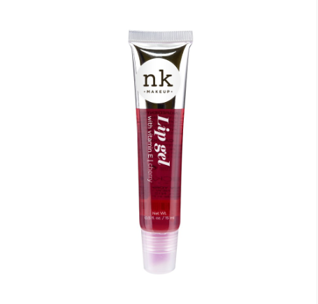 [ 4 PACK ] Lip Gel Gloss Argan, Rosehip, Bubble Gum, Strawberry by NICKA K New York - Waba Hair and Beauty Supply