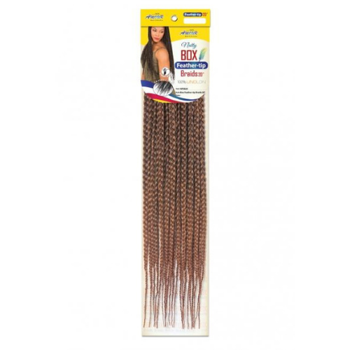 "Amour Natty 20"" EZ Box Feather-Tip Crochet NPSB20 Braid Hair By Chade Fashions - Waba Hair and Beauty Supply"