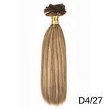 "Silky Straight Gold 100% Remy Human Hair Extensions 18"" & 22"" By Bohyme - Waba Hair and Beauty Supply"