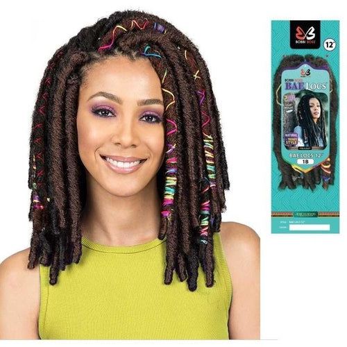 "12"" Bae Locs Accent Crochet Braid Hair By Bobbi Boss - Waba Hair and Beauty Supply"