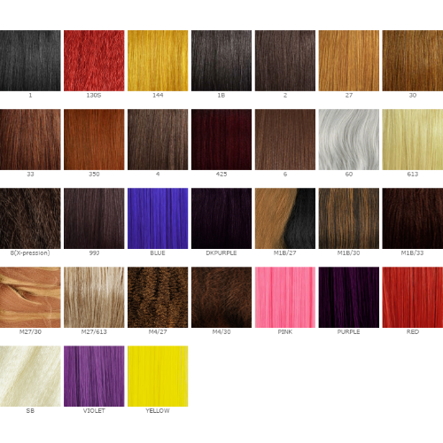 Xpressions Braiding Hair Color Chart Ibovnathandedecker