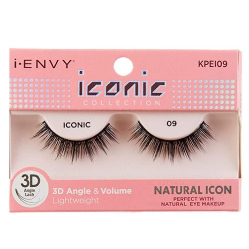 I Envy - KPEI09 - 3D Iconic Collection Natural 3D Lashes By Kiss - Waba Hair and Beauty Supply