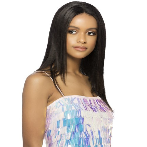 "VVIP ILIANA - Full Swiss Lace Wig - 23"" Layered Straight 100% Remi Human Hair By Vivica A. Fox - Waba Hair and Beauty Supply"