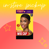 {In-Store Pickup Only} Stocking Wig Cap - Red by Kiss