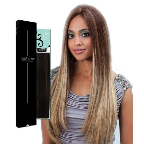 INDIREMI REMY VIRGIN 100% HUMAN FINE SILKY HAIR EXTENSIONS HAIR BY BOBBI BOSS