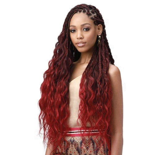 "King Braid Tips Body Wave 28"" 3X Braid Crochet Hair by Bobbi Boss - Waba Hair and Beauty Supply"