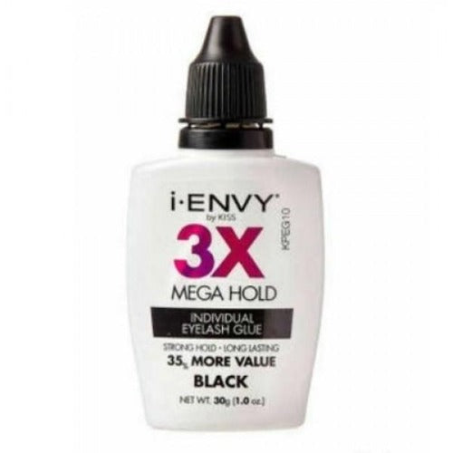 3X Mega Hold Individual Lash Glue - By Kiss - Waba Hair and Beauty Supply