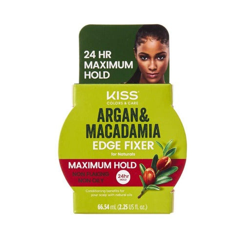 Argan Macademia Edge Fixer by Kiss - Waba Hair and Beauty Supply