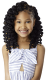 "X-Pression 10"" Lil Looks Puff Ball Crochet Braiding Hair By Outre - Waba Hair and Beauty Supply"