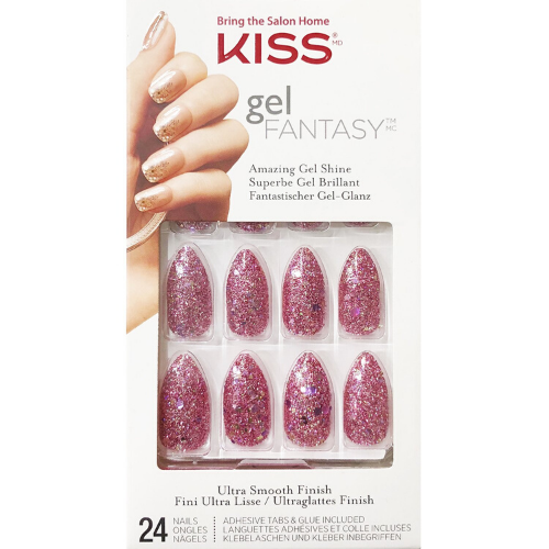 Francesca Gel Fantasy Ready-To-Wear Press On Nails - KGN52 - by Kiss - Waba Hair and Beauty Supply