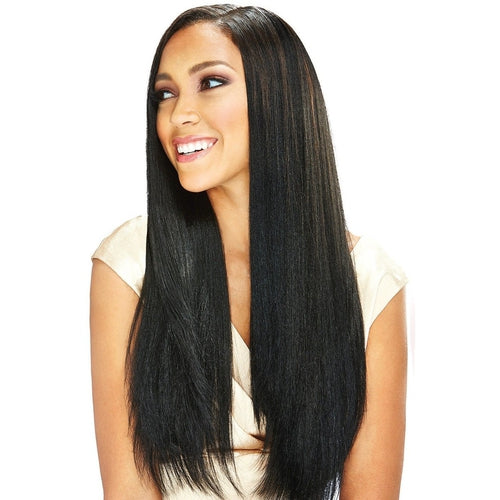 "'Nu 7 Kinky Perm 'Premium Synthetic Weaving Hair 7pc Bundle Pack with Closure by Bobbi Boss - 16"" 18"" 20"""