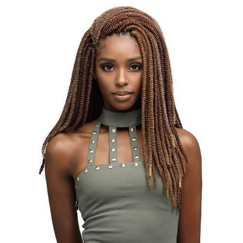 "Bomba Nubian Twist 18"" Crochet Braiding Hair by Bobbi Boss - Waba Hair and Beauty Supply"