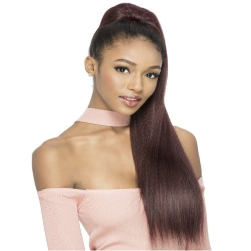 "PB ROSE - Pocket Bun Ponytail - 28"" Drawstring Hair Extension By Vivica A. Fox"