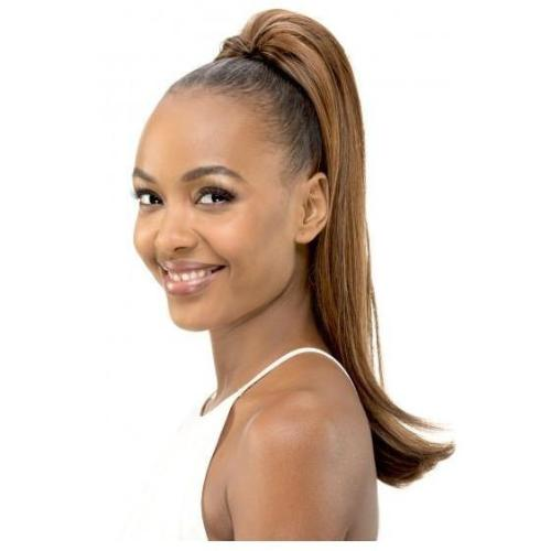 "PB 65 - 20"" Pocket Bun Ponytail- Drawstring Pony-Tail Hair Extension By Vivica A. Fox - Waba Hair and Beauty Supply"