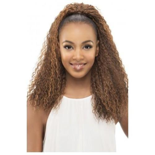 PB Lemon - Pocket Bun Ponytail - Drawstring Pony-Tail Extension By Vivica A. Fox - Waba Hair and Beauty Supply