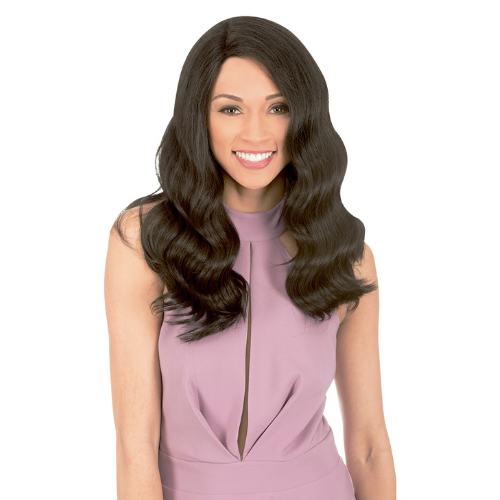 MLUH102 - Magic Lace Deep U-Shape Human Blend Lace Front Wig By Chade Fashions
