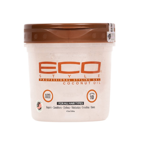 Eco Style Coconut Oil Professional Styling Gel by Ecoco Inc