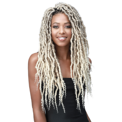 "18"" Messy Faux Locs Curly Tips by Bobbi Boss"