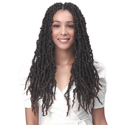 "18"" Nu Locs Distressed Butterfly Locs Synthetic Crochet Braid Hair By Bobbi Boss"
