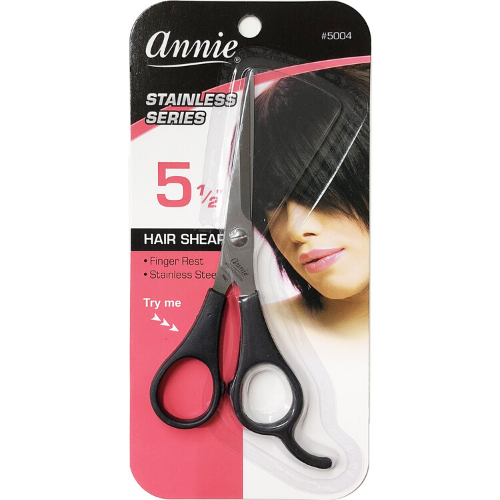 "5.5"" Stainless Steel Hair Shears - 5004 - by Annie"