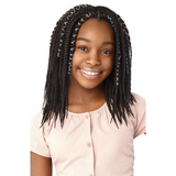 "X-Pression 10"" Lil Looks Box Braid Crochet Braiding Hair By Outre"