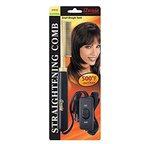 Small Electric Straightening Comb - 5533 - By Annie