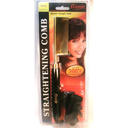 Medium Electric Straightening Comb - 5530 - By Annie