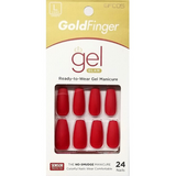 Goldfinger Gel Glam Press On Nails - GFC05 - by Kiss