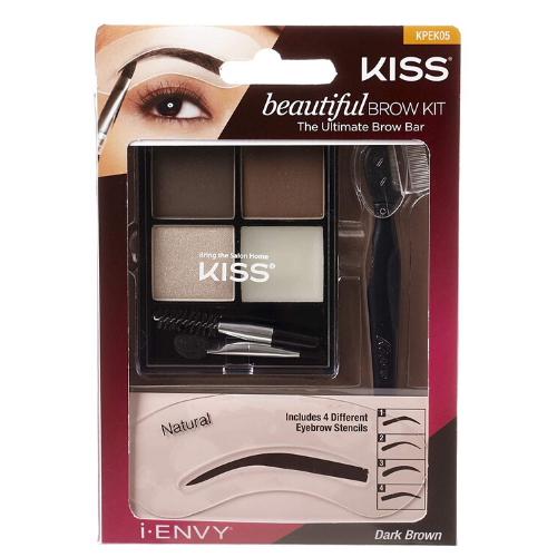 I Envy Beautiful Brow Kit - KPEK05 - By Kiss - Waba Hair and Beauty Supply