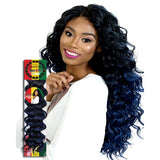 Kanekalon and Toyokalon Kingston Curl Crochet Braid Hair by RastAfri