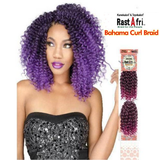 Bahama Curl Kanekalon and Toyokalon Crochet Braid Hair by RastAfri