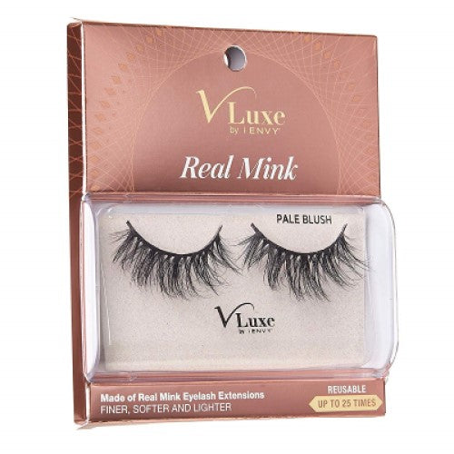 V-Luxe I Envy - VLEC02 Pale Blush - 100% Virgin Remy Real Mink Lashes By Kiss - Waba Hair and Beauty Supply