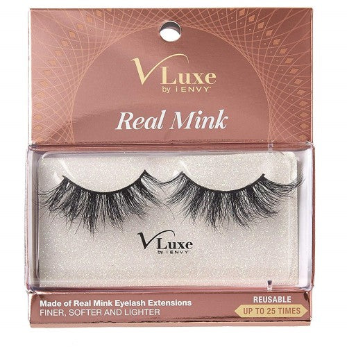V-Luxe I Envy - VLEC03 Velvet Rose - 100% Virgin Remy Real Mink Lashes By Kiss - Waba Hair and Beauty Supply