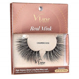 V-Luxe I Envy - VLEC07 Cashmere Rose - 100% Virgin Remy Real Mink Lashes By Kiss - Waba Hair and Beauty Supply