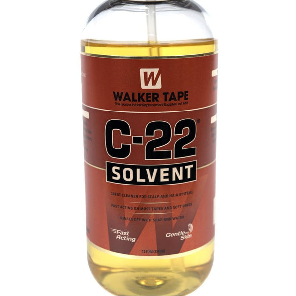 Walker Tape C-22 Citrus Solvent Lace Glue Adhesive Remover - 12 Ounce - Waba Hair and Beauty Supply