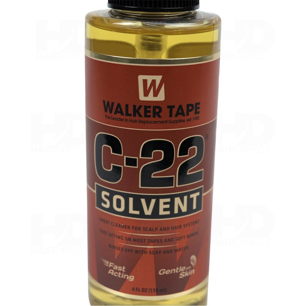 Walker Tape C-22 Citrus Solvent Lace Glue Adhesive Remover - 4 Ounce - Waba Hair and Beauty Supply
