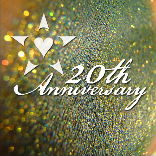 Welcome to my 20th Anniversary year!