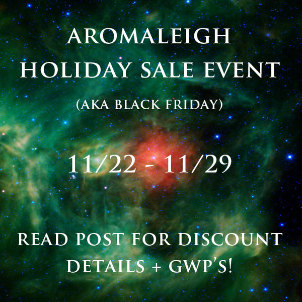 (OFFER ENDED) BLACK FRIDAY WEEK SALE EVENT 11/22-11/29 11:59 PM EST