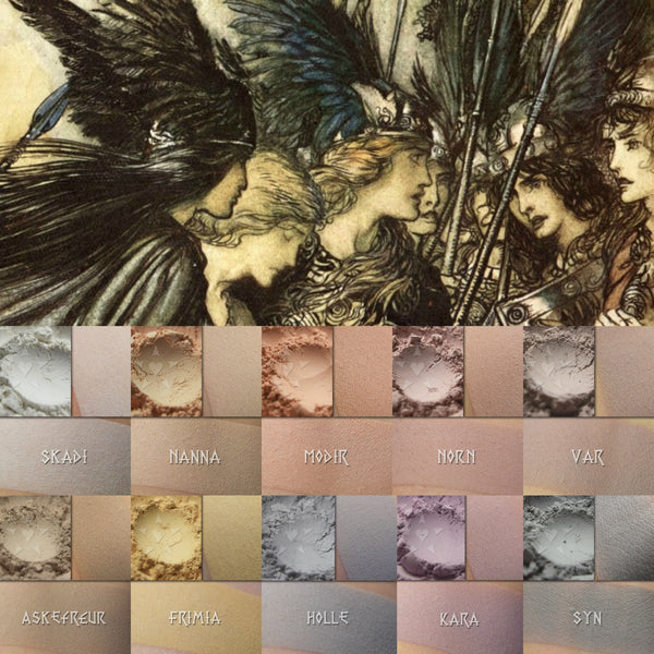 Matte Saga Three : Pale daily-wear shades inspired by women of Norse mythology