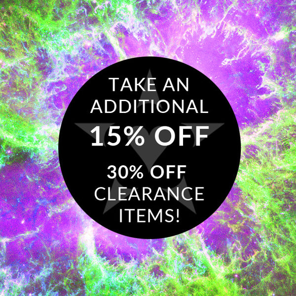 (OFFER ENDED) Now through end of February: Take an additional 15% OFF the 30% OFF clearance items with coupon code!