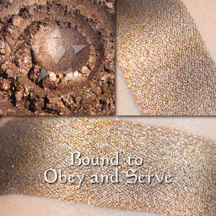 BOUND TO OBEY & SERVE - EYESHADOW