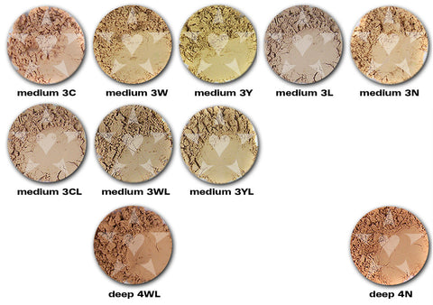 PASHMINA Heavy Coverage Mineral Foundation/Concealer